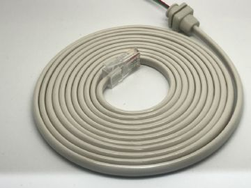 GPO Dolphin Grey 706-746 Flat Telephone  Line Cable